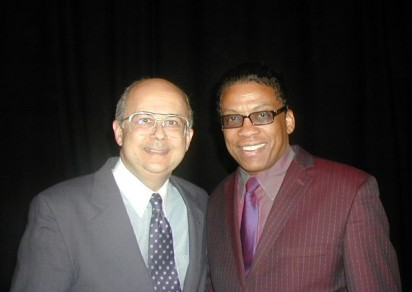 Herbie Hancock and Ismail Serageldin